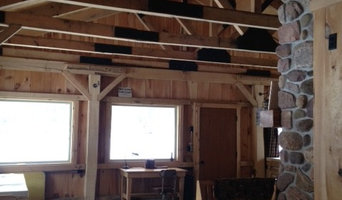Complete Framing of Wood Cabin