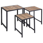 IMAX Worldwide Home - IK Groveport Nesting Tables,3-Piece Set - *Please Note*