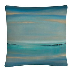 The Line Of Time' Abstract Bold Industrial Throw Pillow