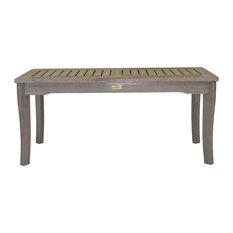 Gray Wash Eucalyptus Coffee Table