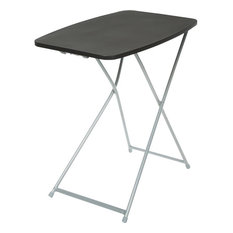 Cosco Home and Office Personal Black Tray Table, 37-129-BLK4