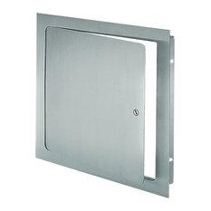 "Universal Flush Premium Access Door With Flange, Prime Coat, 24""x24"""