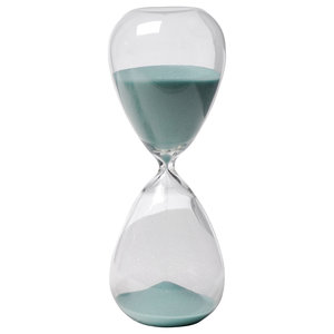 04172300b58 30 Minute Mercury Hourglass Sand Timer Tan - Contemporary ...