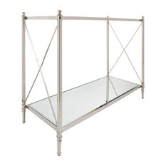 Crossley Console Table With Mirror Glass