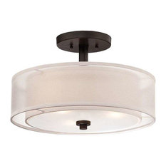 flushmount ceiling lights  houzz, Lighting ideas