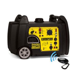 Champion 3400 Watt Rv Ready Portable Inverter Generator With Remote Start
