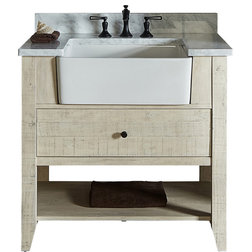 Farmhouse Bathroom Vanities And Sink Consoles by Luxx Kitchen and Bath