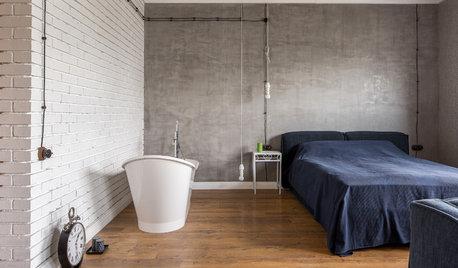 Фотоохота: Ванная в спальне