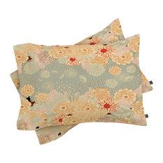 Deny Designs Iveta Abolina Creme De La Creme Pillow Shams, Queen