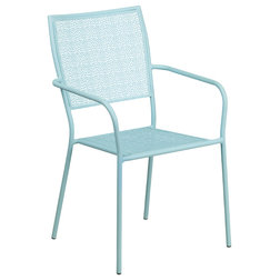 Contemporary Outdoor Dining Chairs by Flash Furniture