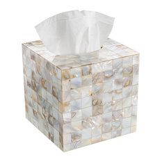 Milano Square Tissue Box Cover