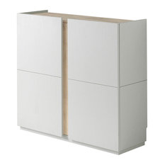 Handless Shoe Storage Cabinet, Cambrian Detail