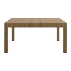 Treade Extendable Dining Table, Light Oak, Small