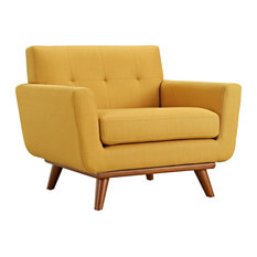 Engage Upholstered Fabric Armchair, Citrus