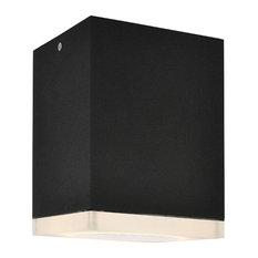 Avenue Lighting AV9889-BLK Outdoor Wall Sconce Black Aluminum/Acrylic Signature