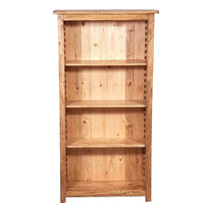 Country 3-Shelf Bookcase, Natural