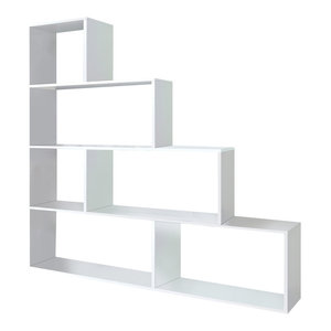 Klum Shelving Unit, Bright White