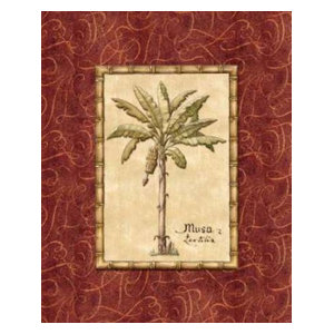 """Red Passion Palm II"" Print"