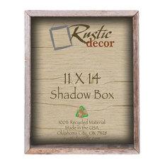 """Edmond Barn Wood Collectible Shadow Box, 11""""x14"""""""