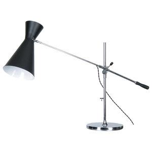Adjustable Stilnovo Table Lamp, Black