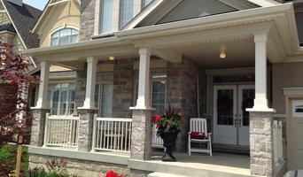 Porch Pillars Repaint - Brampton
