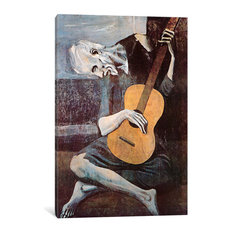 """The Old Guitarist"" by Pablo Picasso, 40x26x1.5"""