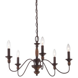 Fancy Traditional Chandeliers by Quoizel