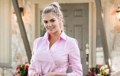 Houzz TV: La modelo Kate Upton renueva la casa de su hermana