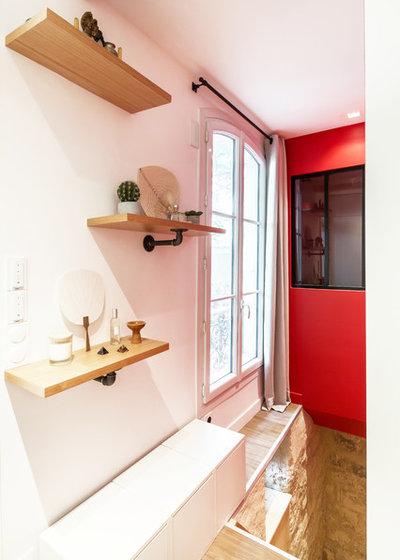 Contemporain Couloir by NEVA Architecture Intérieure - Interior Design