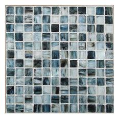 "DROPS Royal Glass Mosaic Tile, 12""x12"", Set of 10"