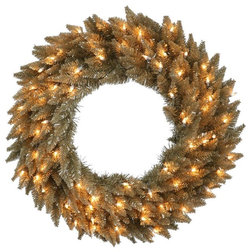 Contemporary Wreaths And Garlands by BulbAmerica