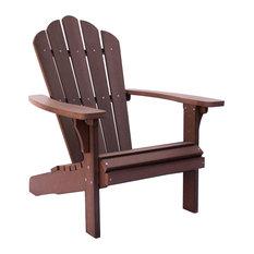 West Palm Adirondack Chair, Chateau Brown