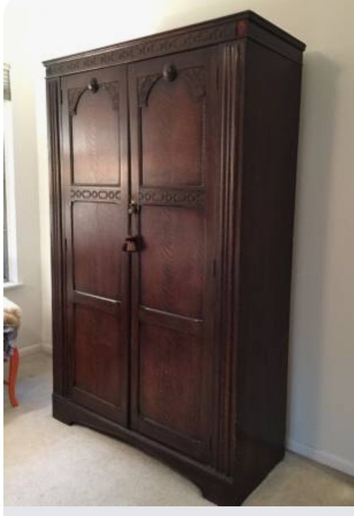 Smelly Used Armoire HELP!