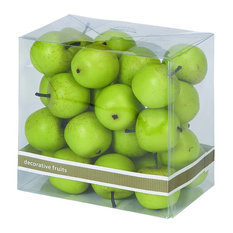 27- Piece Foam Small Apple Box, Green
