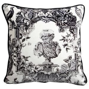 V&A Romano Velvet Cushion