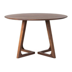 Distinctive 47-inch Solid American Walnut Meeting Table