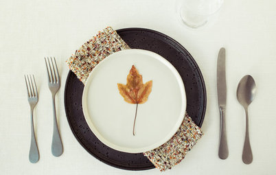 15 Fall Place Settings Inspired by a Leaf Walk