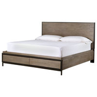 Universal Furniture Curated Spencer Storage Bed, 2-Tone, Queen