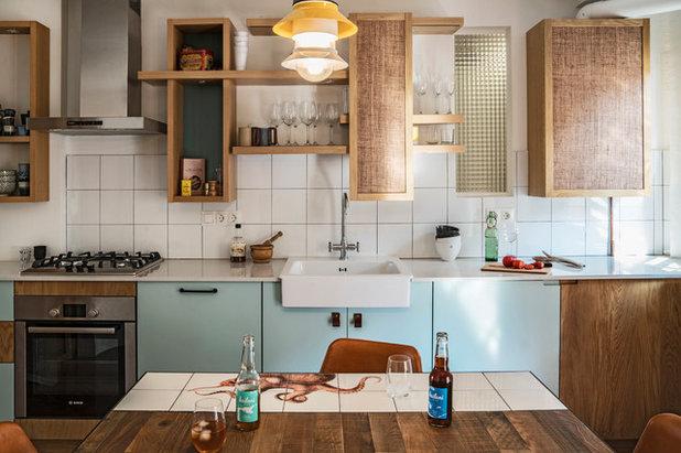 Casas Houzz: Una casa de pescadores contemporánea en Barcelona