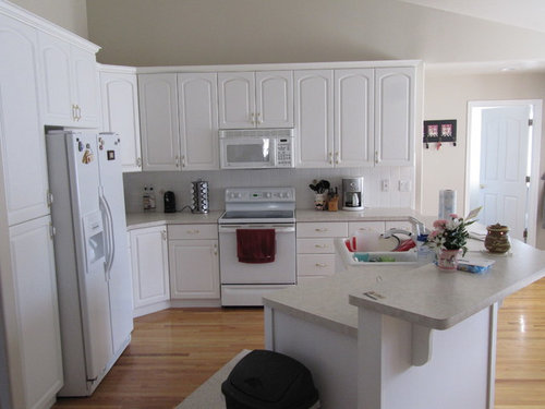 Sterile White Kitchen Need To Add Something