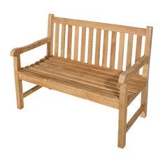 Java Teak Garden Bench