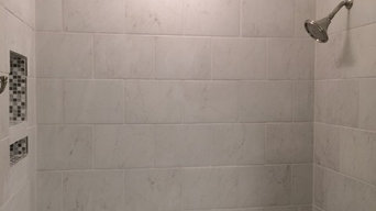 EASY TO CARE FOR TILED SHOWER