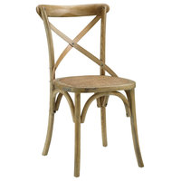 Wood Dining Side Chair, Natural