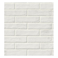 Capella White Brick 2x10 Porcelain, Set to Cover 310.8