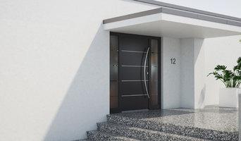 Residential Aluminum Entry Door