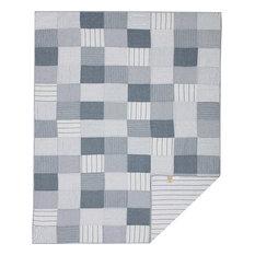 Sawyer Mill Blue Twin Quilt 68Wx86L