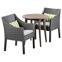 Tropical Outdoor Pub And Bistro Sets by GDFStudio