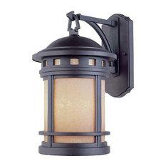 "Designers Fountain 2381-AM-ORB 9"" Wall Lantern"