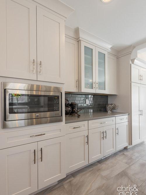 Modern White Kitchen Remodel In Salt Lake City Ut
