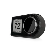 WiFi Connected Thermostat Black